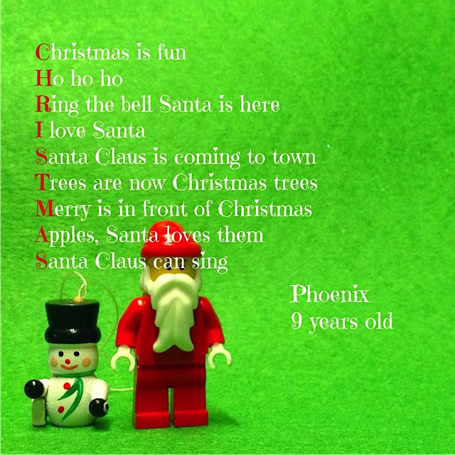 Santa+Acrostic Santa Claus, Christmas and acrostics - Karen Main